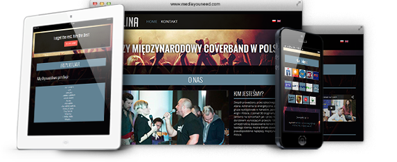 Adrenalina Band - Music WordPress Website