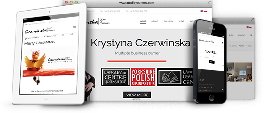 Krystyna Czerwinska - Entrepreneur Website